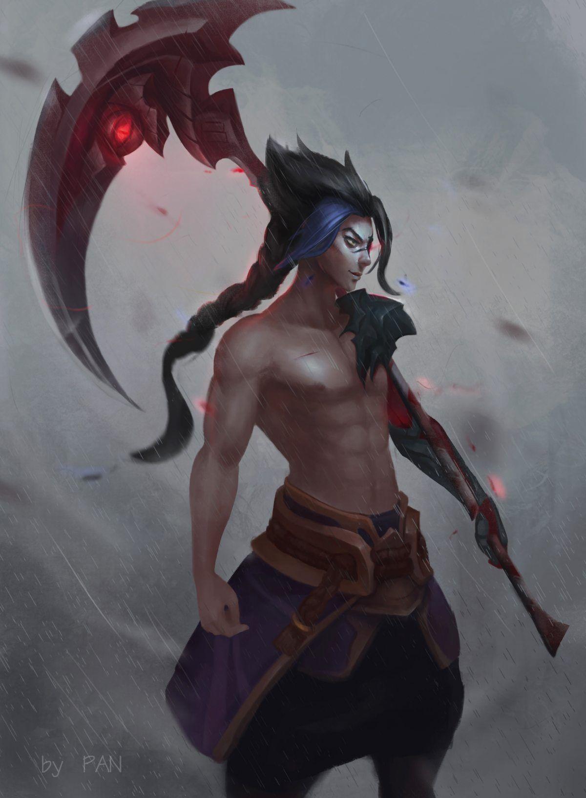 Kayn By Miaosu Hd Wallpaper Background Fan Art Artwork League Of Legends Lol League Of Legends League Of Legends Game League