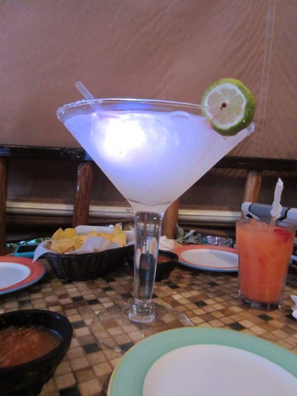 margharita glowing margarita giant drink glass uploaded