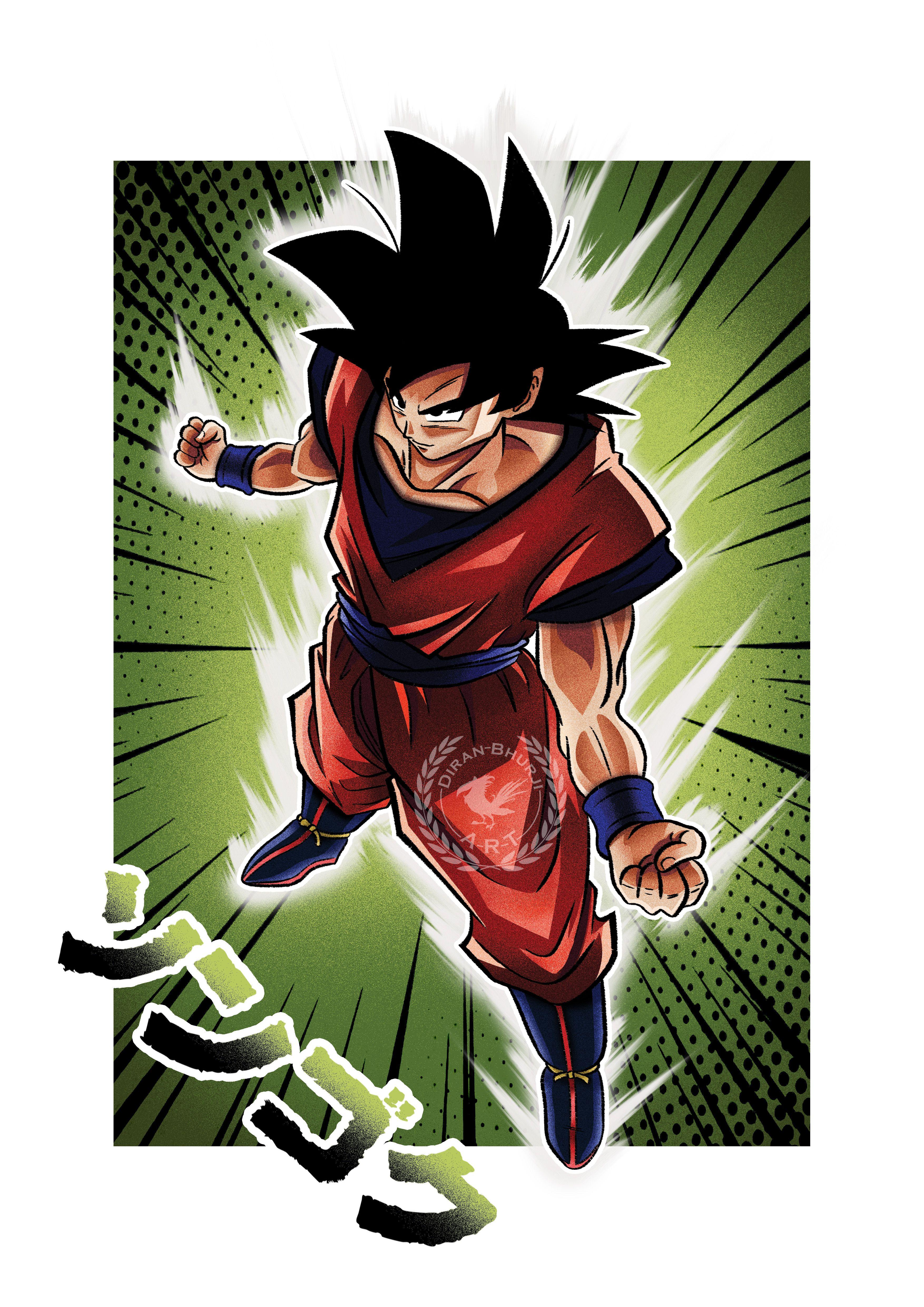 Dbz Dragonball Z Goku Base Form Anime Manga Illustration Animation Art Instagram Anime Dragon Ball Super Dragon Ball Super Manga Dragon Ball