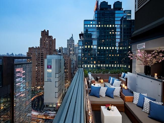 Above 6 Thompson Hotel Ny The 10 Best Rooftop Bars In