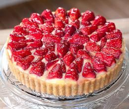 Strawberry Tart with a Shortbread Crust   A Month of Celebrating!