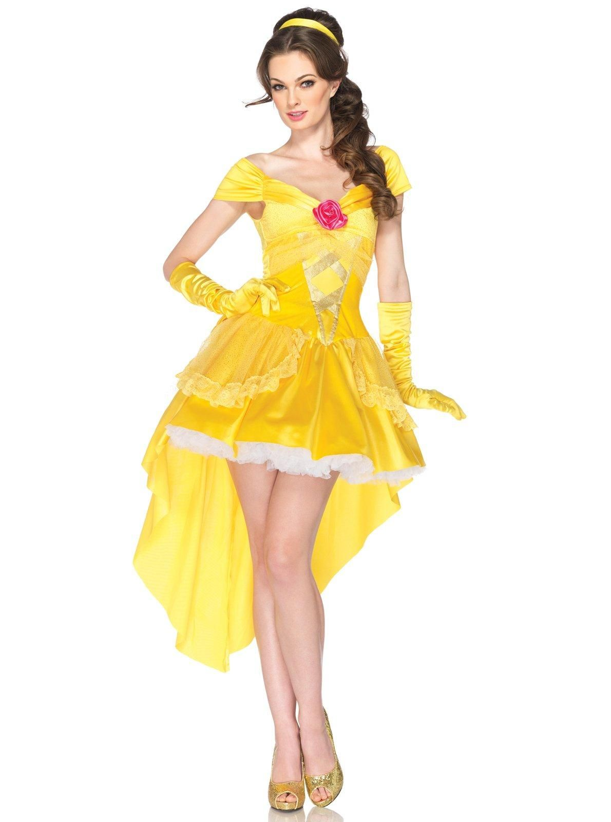 Disney princess gowns for adults - Disney Princesses Enchanting Belle Adult Costume
