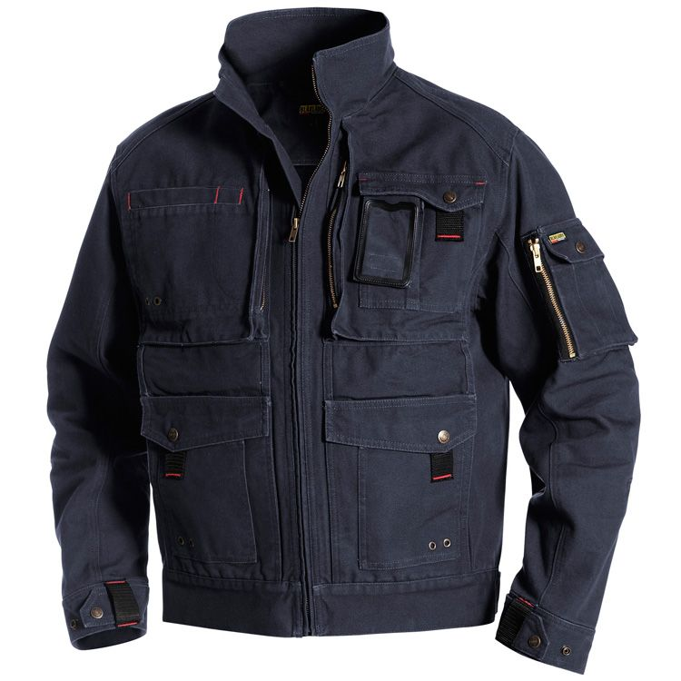 This is the Blaklader Brawny Canvas jacket made for real