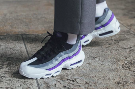 the best attitude 48866 2efc4 Look Out For The Nike Air Max 95 Persian Violet There are a number of new