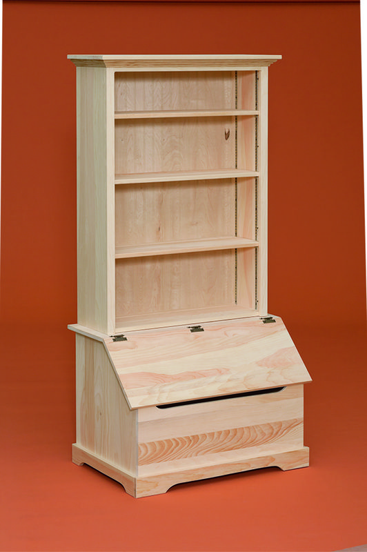 Fighting Creek All American Furniture In 2020 Toy Box With Shelf