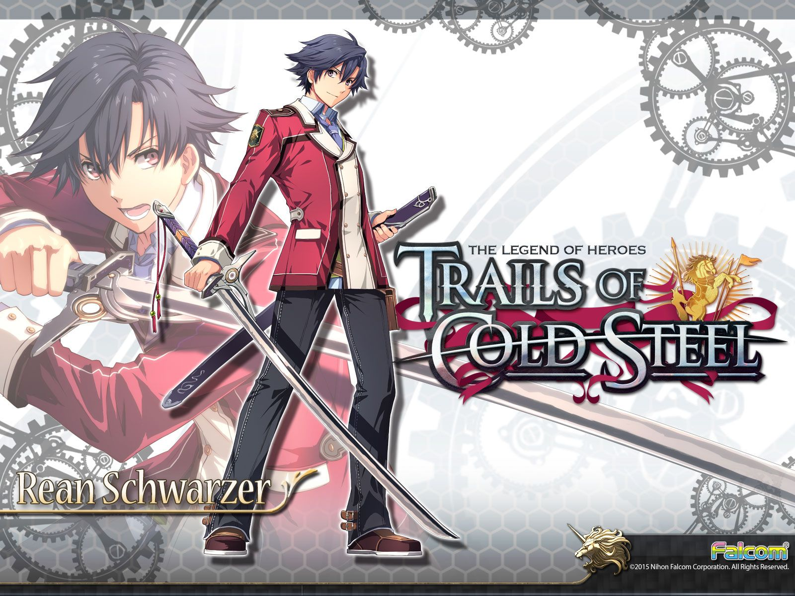 Http Nisamerica Com Games Trails Of Cold Steel Images Media Wallpapers 1 Rean1600x1200 Jpg The Legend Of Heroes Trails Of Cold Steel Anime Guys