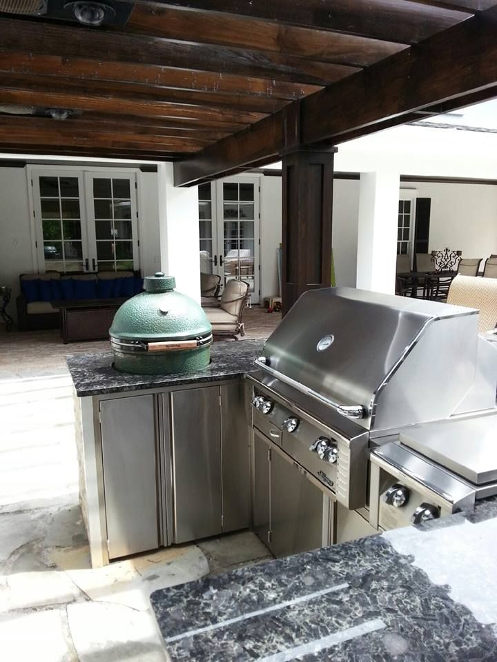 Another BEAUTIFUL outdoor kitchen designed by Just Grillin in