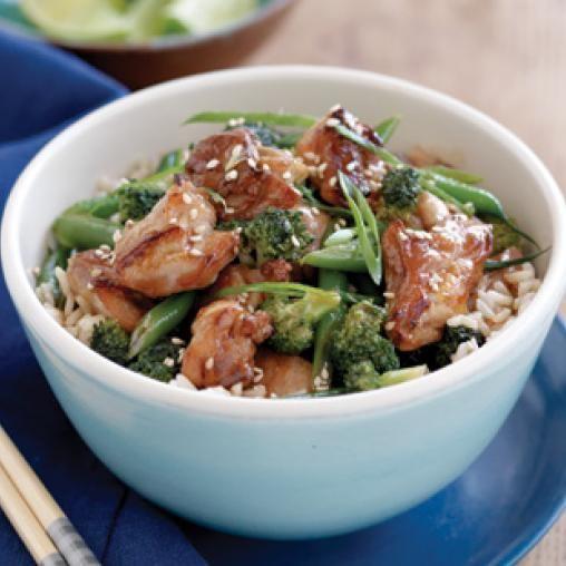 Hfg Teriyaki Chicken Australian Healthy Food Guide Asiancurries