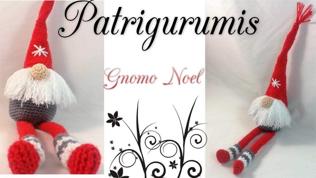 DIY Gnomo noel Amigurumi | recetas | Pinterest | Gnomo, Noel y Ideas ...