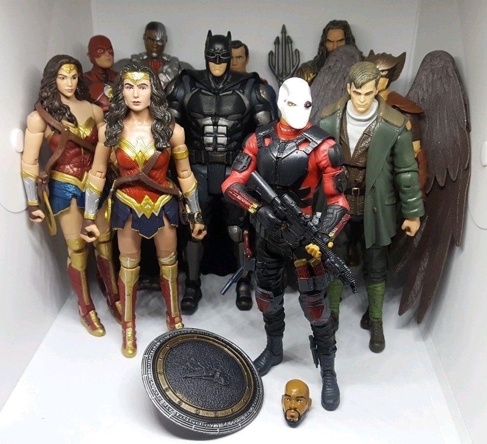 DC Multiverse 10 Figure Lot Justice League Wonder Woman ...