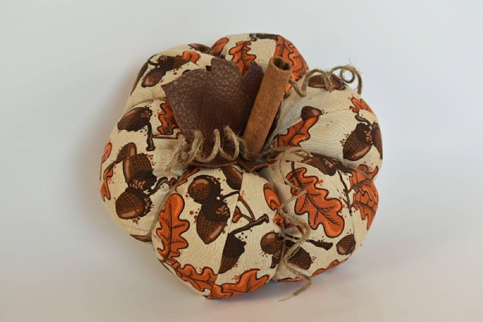 Pumpkin, Fall Decor, Harvest, Acorn, Leaves, Autumn