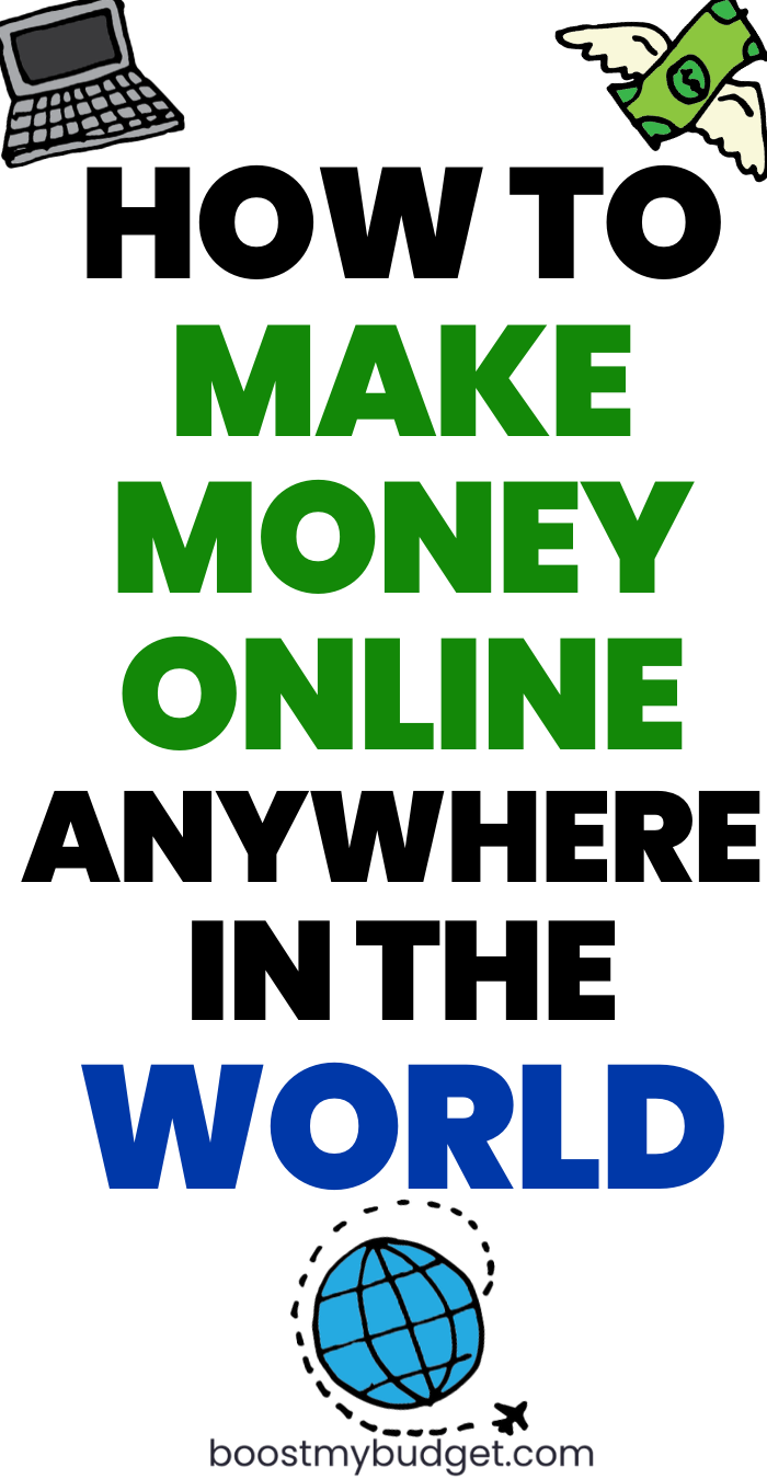 How To Make Money Online Internationally
