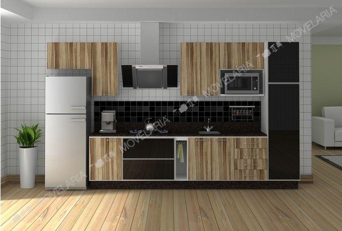 Cozinha Planejada Personalizável - Ref. 3000 - Italínea | Movelaria