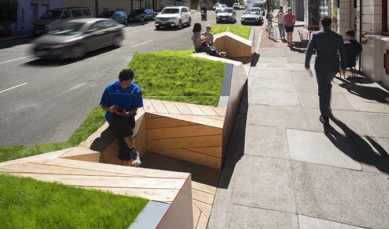 Rebar design studio city of san francisco s pavement to parks ogrydziak prillinger architects - Small urban spaces image ...