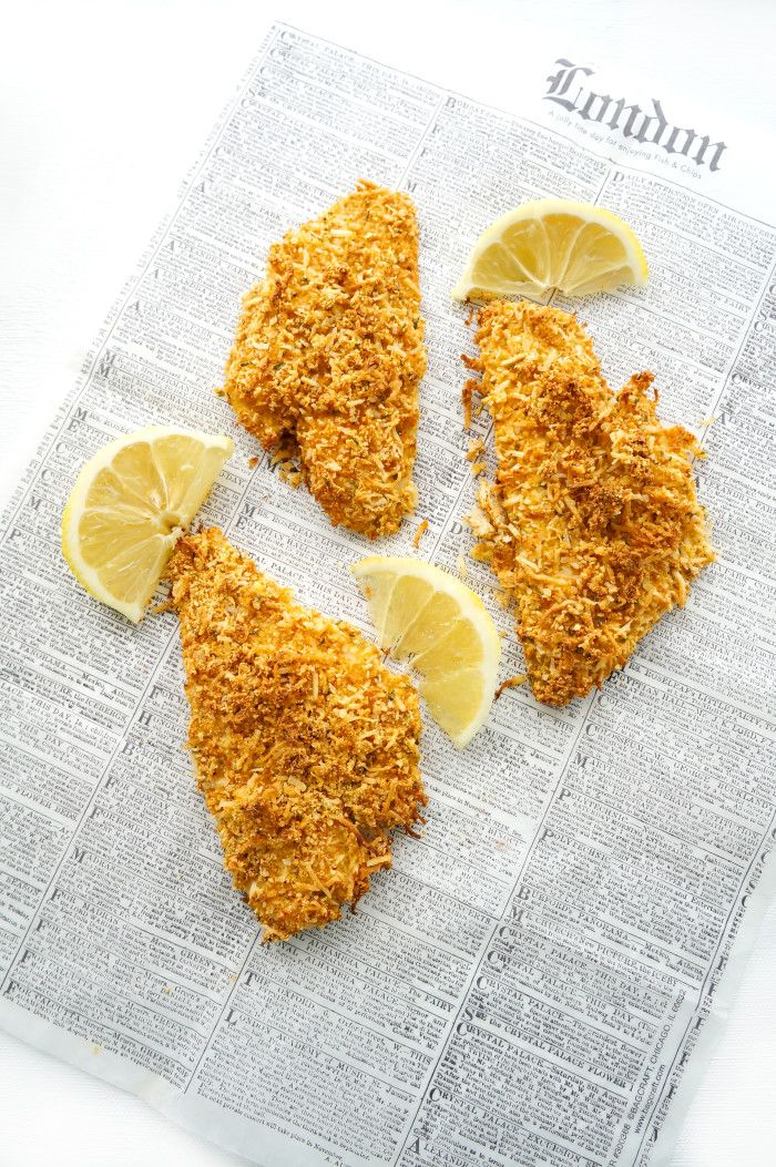 Almond & Coconut Crusted Fish Sticks   Haute & Healthy Living