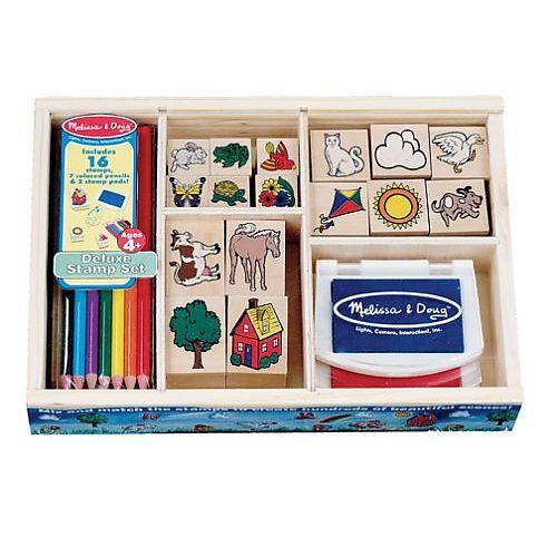 vivian melissa doug deluxe 25 piece stamp set melissa doug toys r us