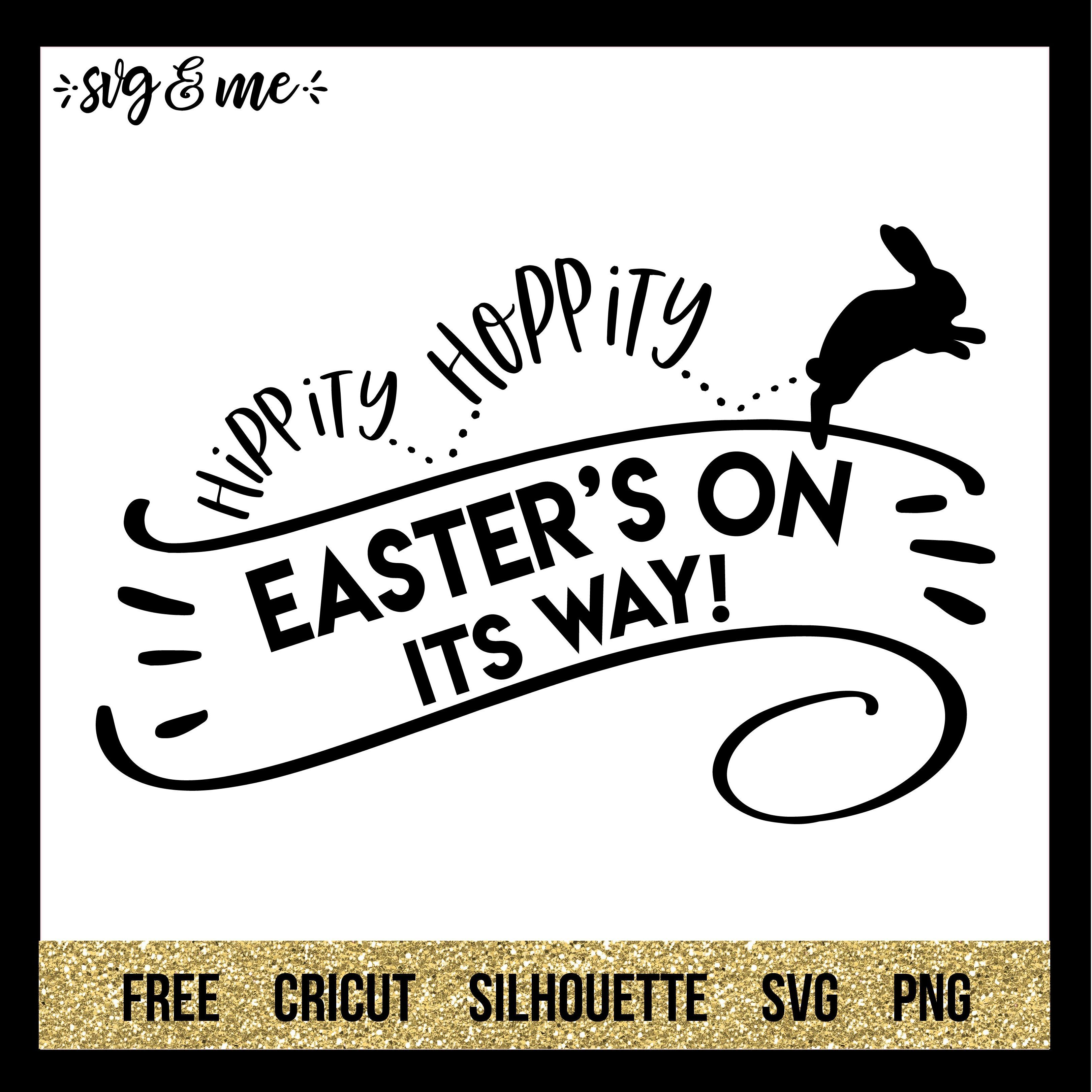 Download Easter's on its Way (With images) | Cricut free, Cricut ...