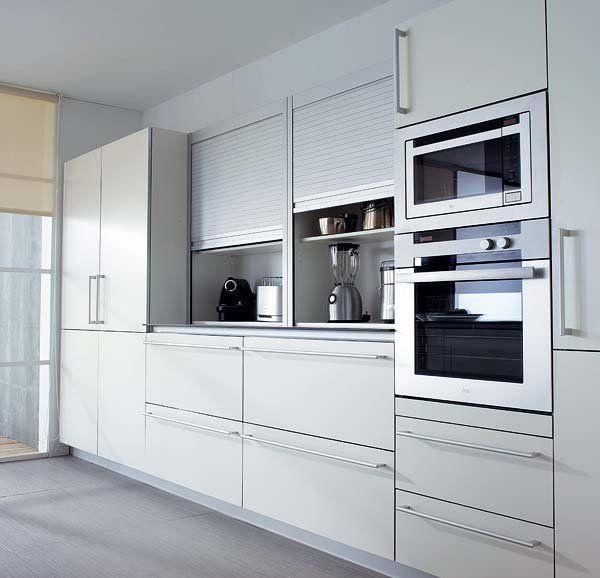 armario cocina persianero iluminado - Buscar con Google | cocina ...