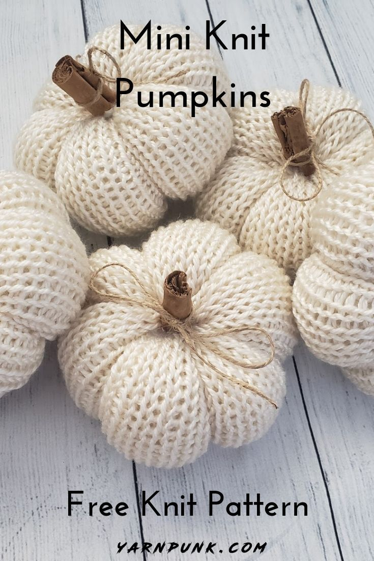 Learn how to get started with amigurumi in the knit pumpkins! Create your own cu...