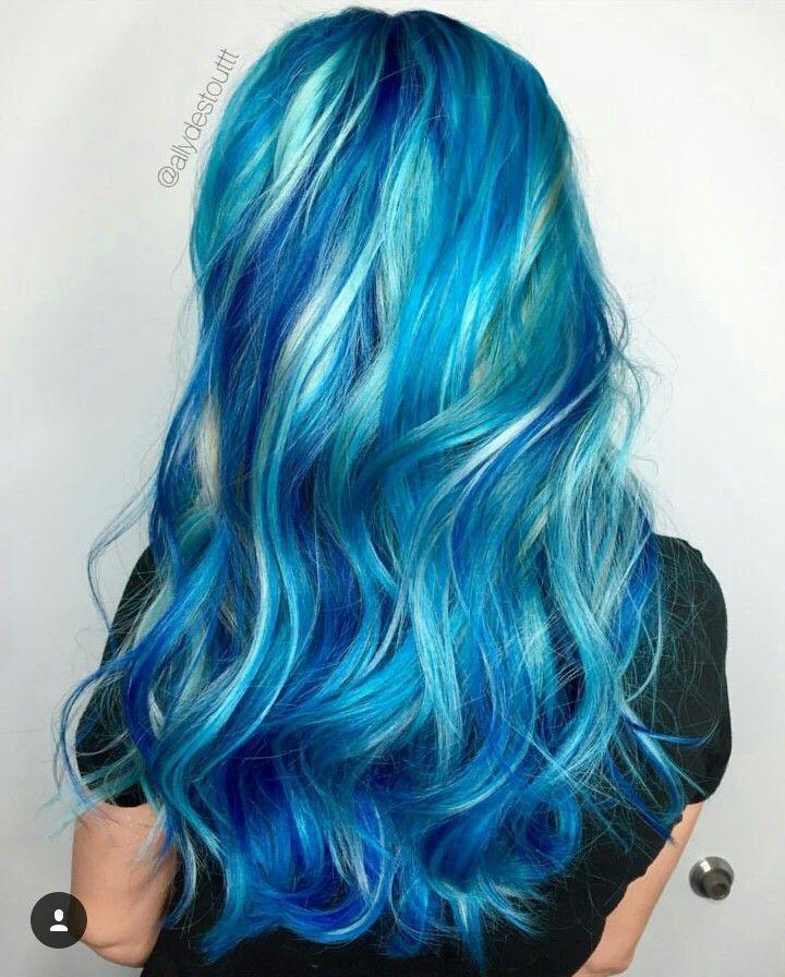 The 14 prettiest pastel hair colors on pinterest colorful hair different shades of blue hair colour pastel aqua dark pmusecretfo Choice Image