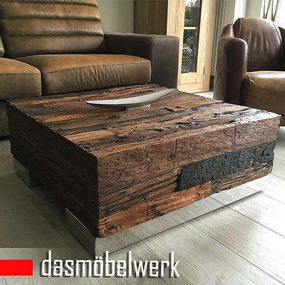 treibholz massivholz recycling holz antik look beistelltisch couchtisch 120 cm tische. Black Bedroom Furniture Sets. Home Design Ideas