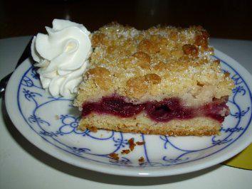 Das perfekte Kuchen/Torte...Kirschkuchen vom Blech-Rezept mit einfacher Schritt-für-Schritt-Anleitung: EIGENTLICH sollten in den Kuchen die frischen…