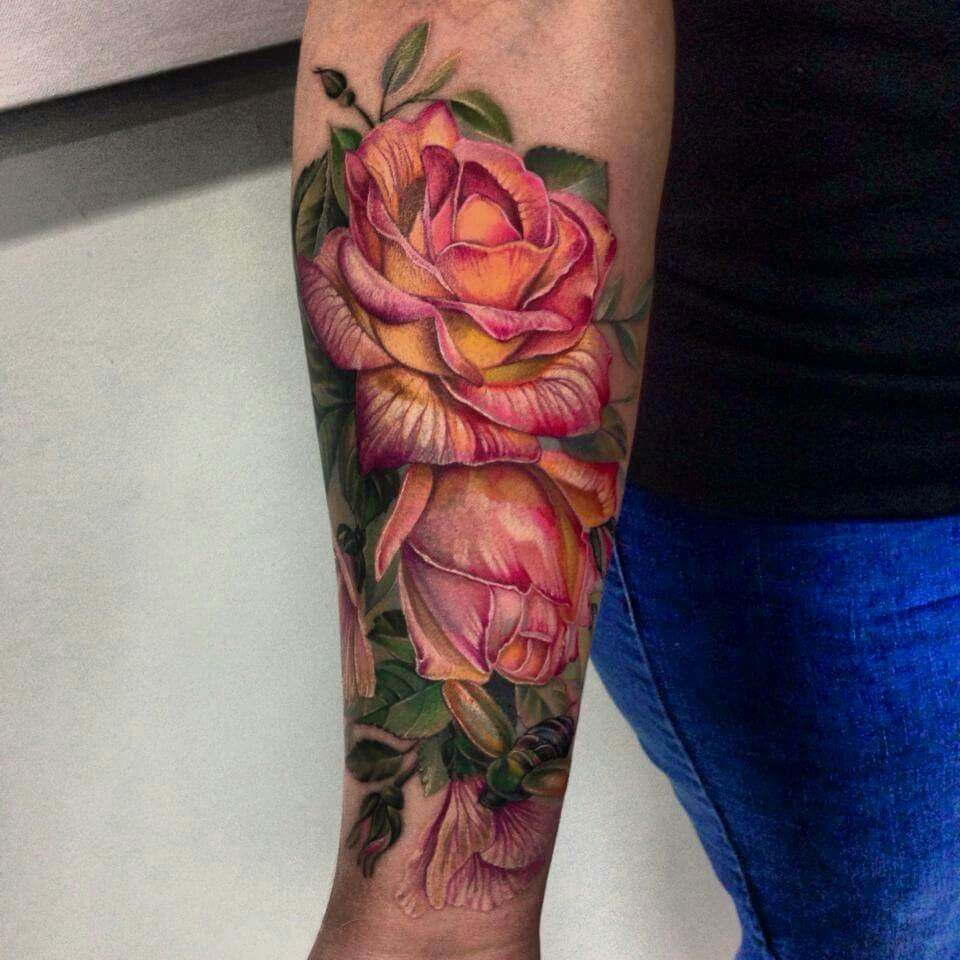 Love roses   Inked   Pinterest   Mommy tattoos, Tattoo and Rose tattoos