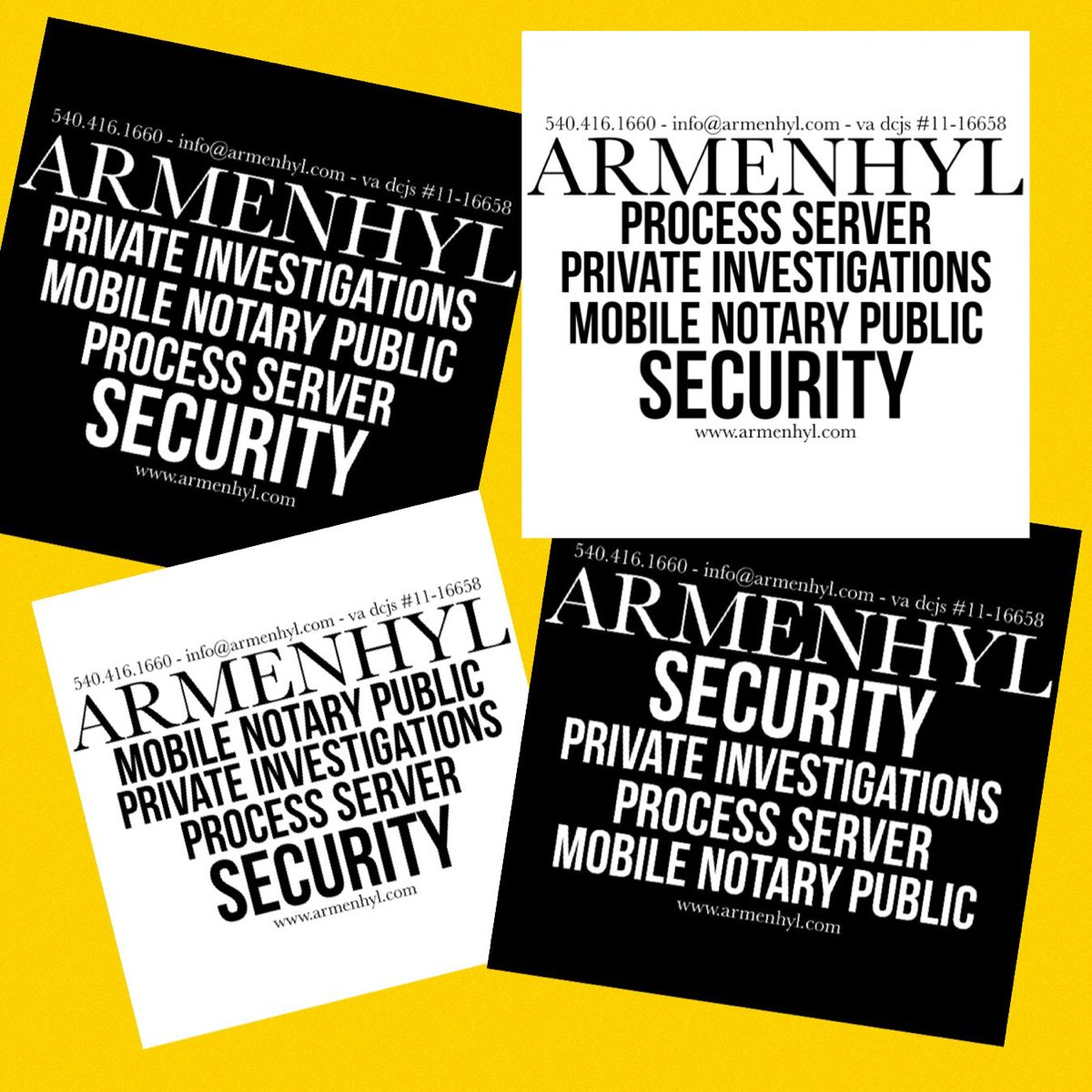 Armenhyl Process Service 22801 24401 22980 22901 22601 22630 22835