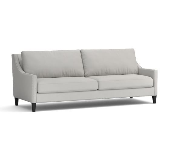 Pasadena Upholstered Loveseat 60 Quot Polyester Wrapped