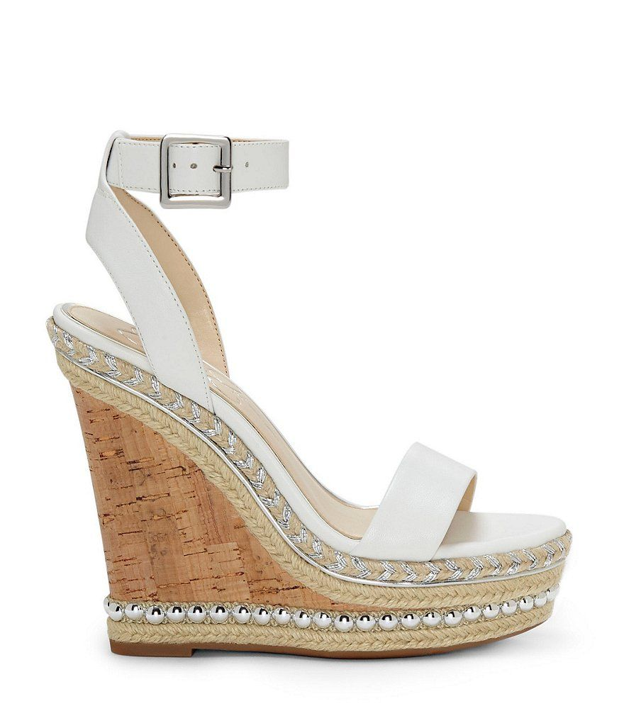 bb8b40989dea Jessica Simpson Avey Stud and Braided Detail Platform Wedge Sandals ...