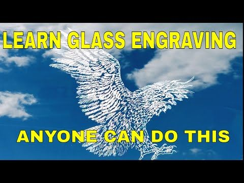 Learn Glass Engraving Glass Etching Tools And Equipment Power Carver And 400xs Review Youtube Glass Engraving