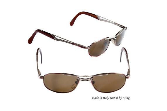 1f69d732c6c Sting sunglasses made in Italy in the 1980s. Add a rare and unique  accessory to your look. This is not a replica! 100% original