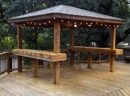 Backyard gazebo bar pergolas 44+ Ideas #backyard | Gazebo ... on Backyard Discovery Pavilion id=89468