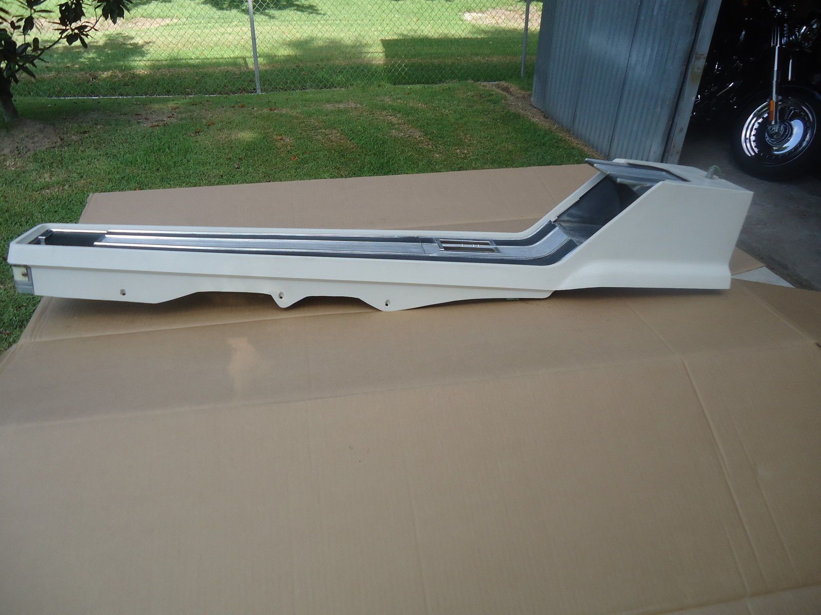 1965 1966 ford mustang convertible center console white - Convertible center ...