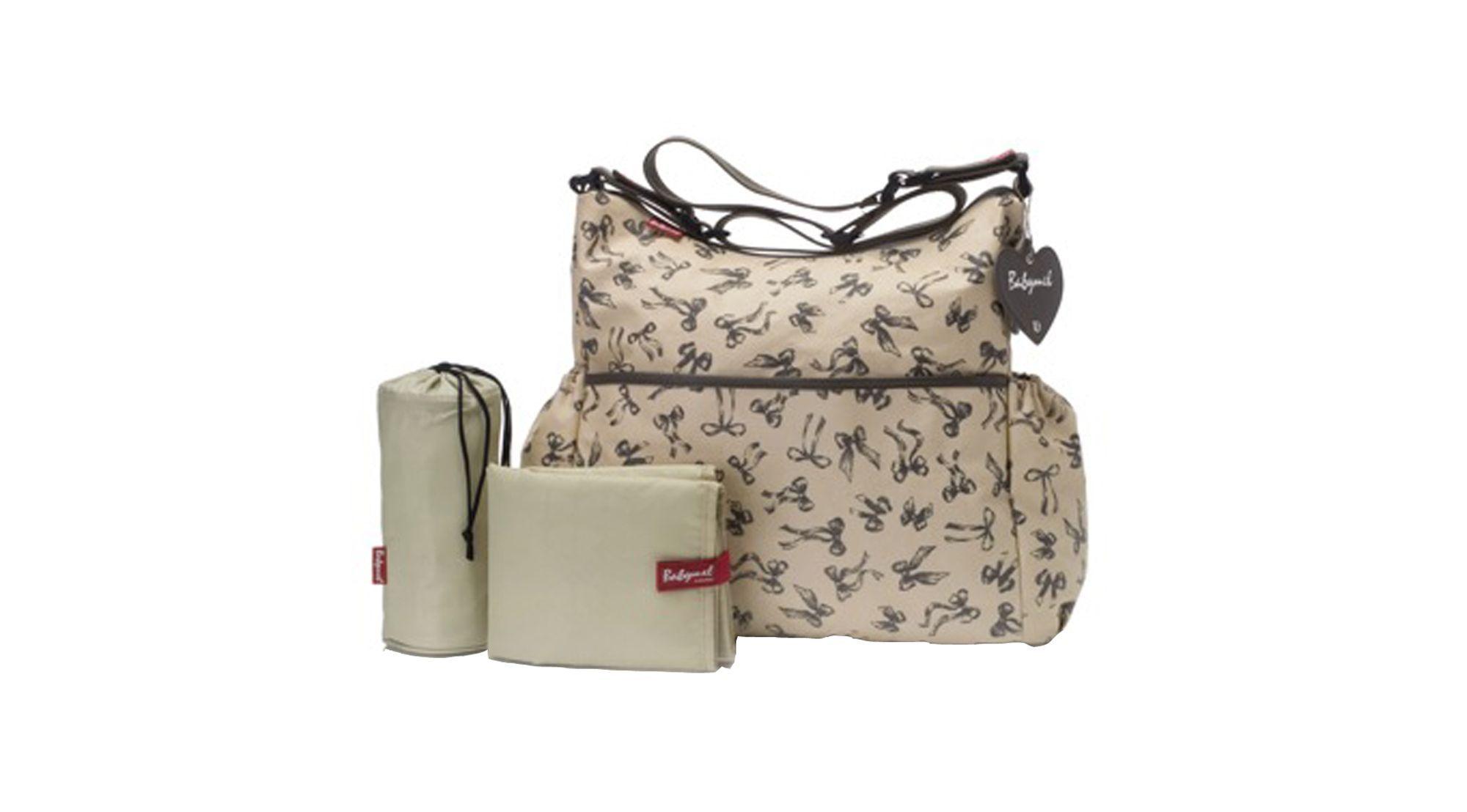 c8a661eb00f8 Babymel Slouchy Changing Bag - Vintage Bow. Babymel Slouchy Changing Bag -  Vintage Bow Cheap Diaper Bags