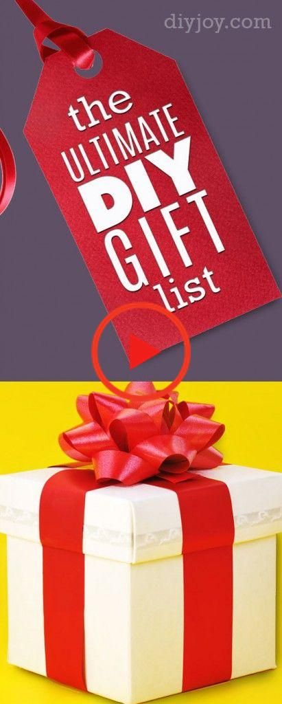 The Only DIY Christmas Gifts List You Need