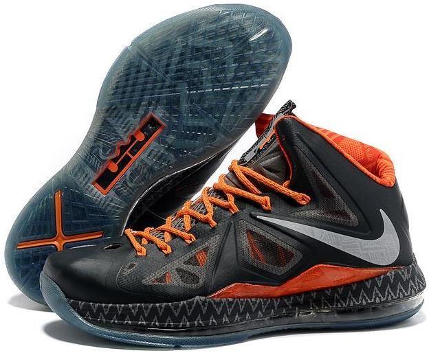 premium selection 03ff7 2e33c Nike Lebron 10 Elite BHM Black History Month Black Orange