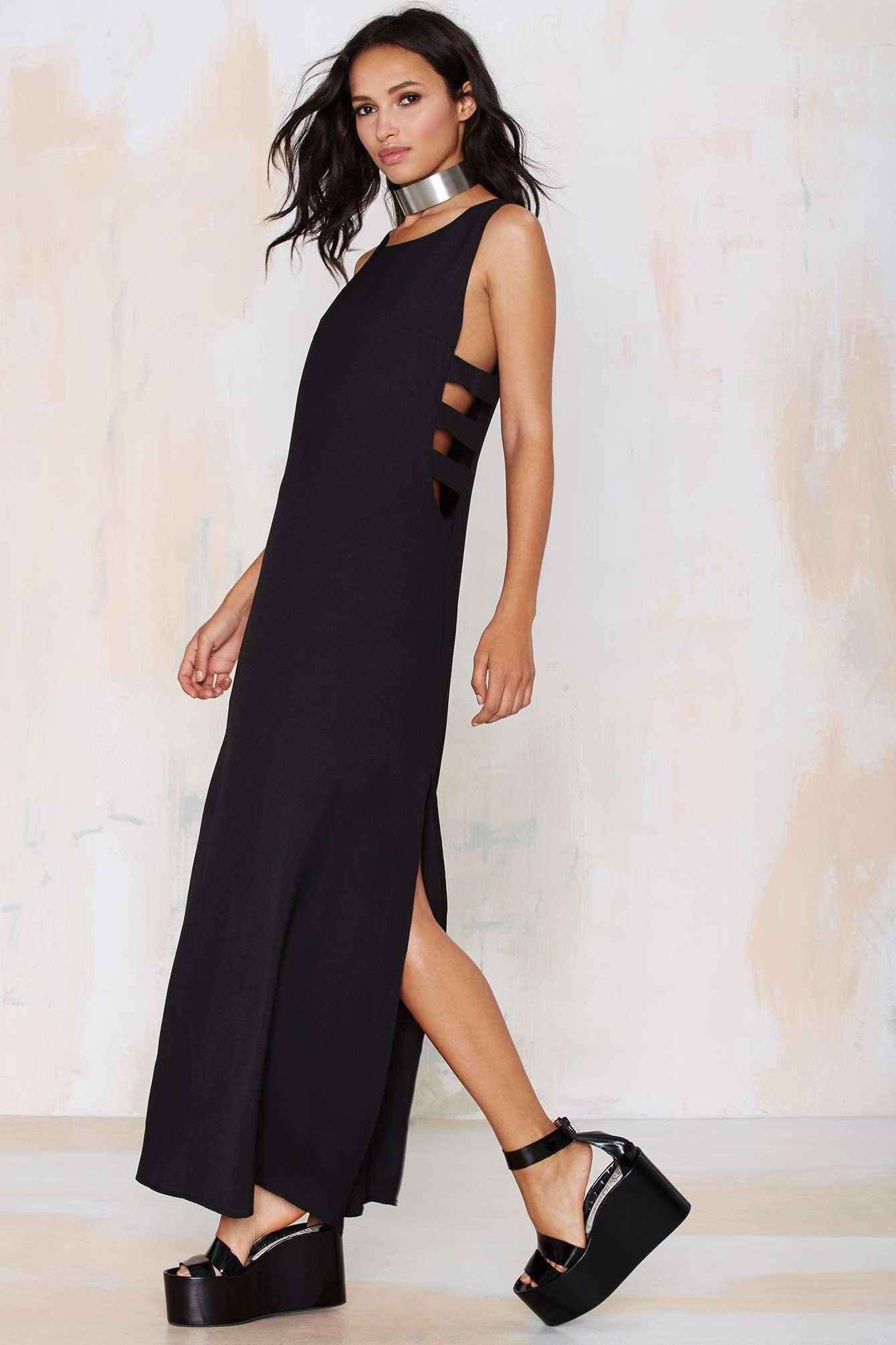 Side to side cutout dress dream closet pinterest side to side