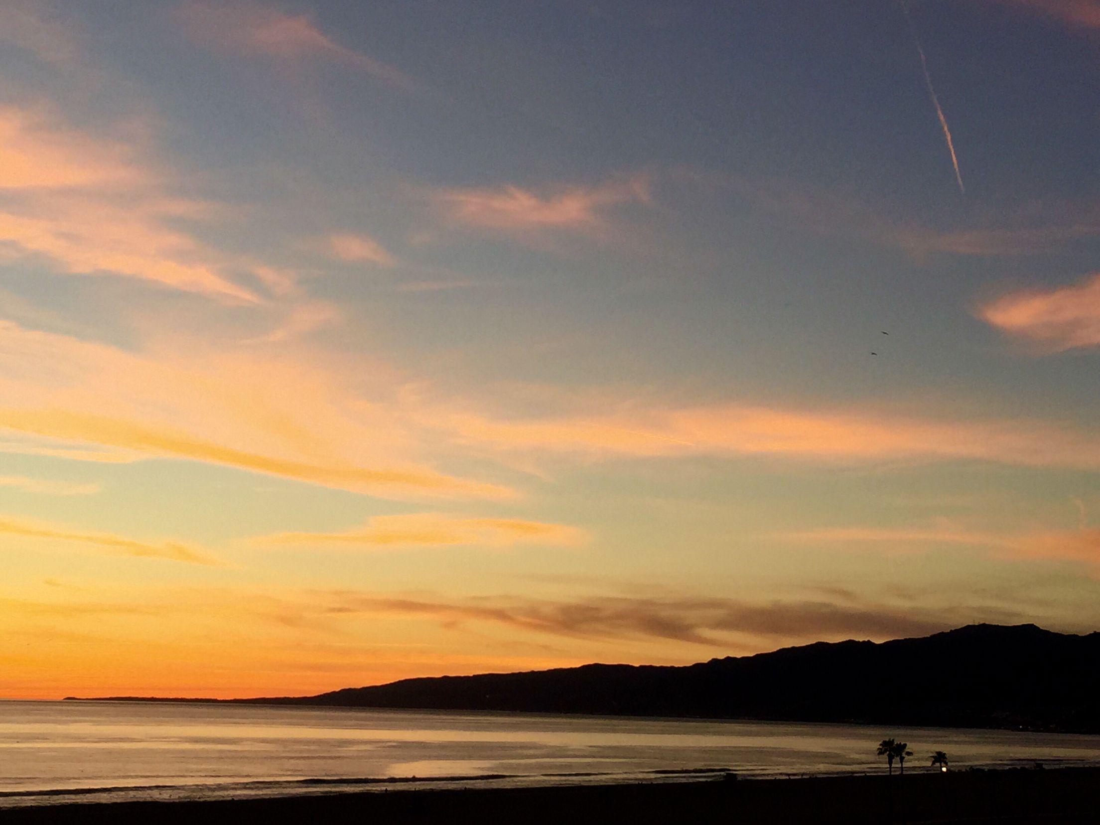 #SantaMonica Bay #Sunset in February 2015