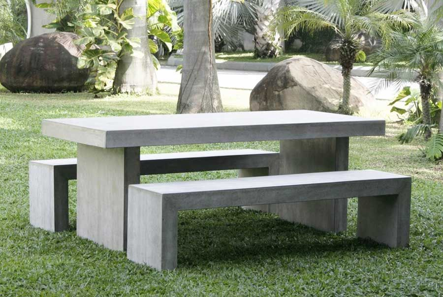 cement picnic table outdoor seating and tables in 2019 outdoor rh pinterest com  cement outdoor picnic tables