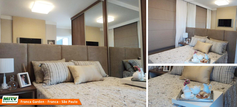 Apartamento decorado 2 dormit rios do parque franca garden for Cuartos decorados