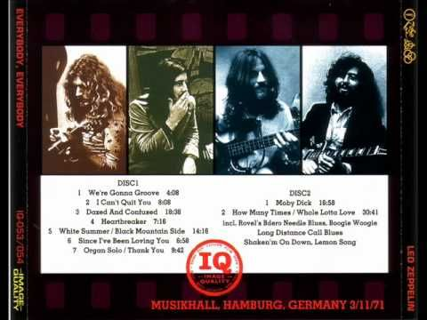 Heartbreaker - Led Zeppelin Musikhalle Hamburg March 11, 1970 - 47 years and 13 days as of right now - ...and I was there! really I was.