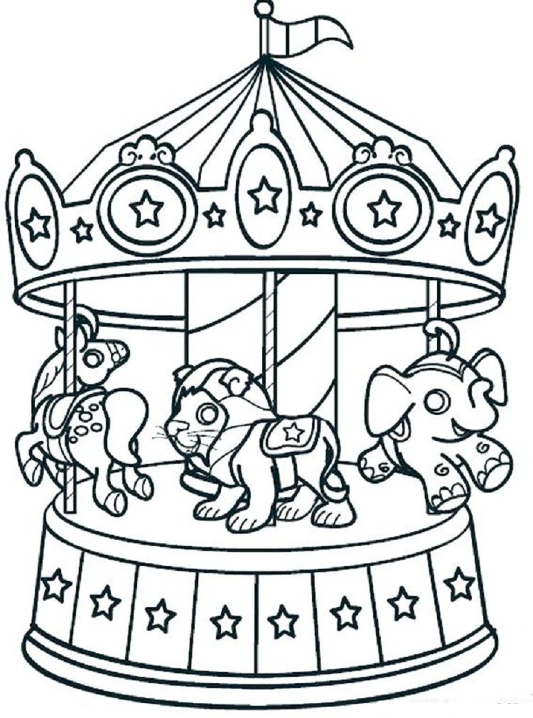 carnival coloring pages for kids coloring pages ideas pinterest