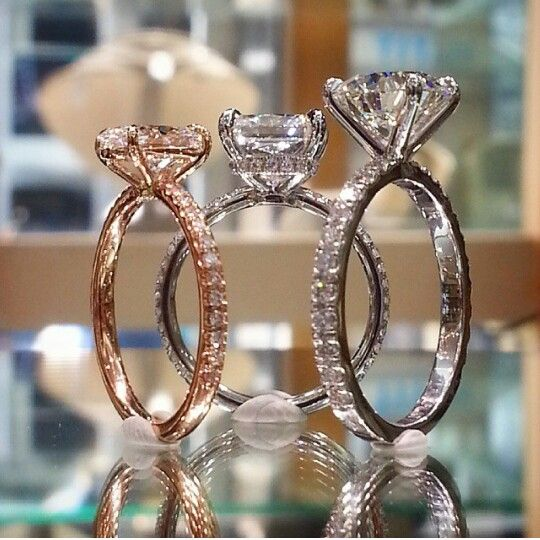 Lauren B Jewelry Diamond Engagement Rings Pinterest