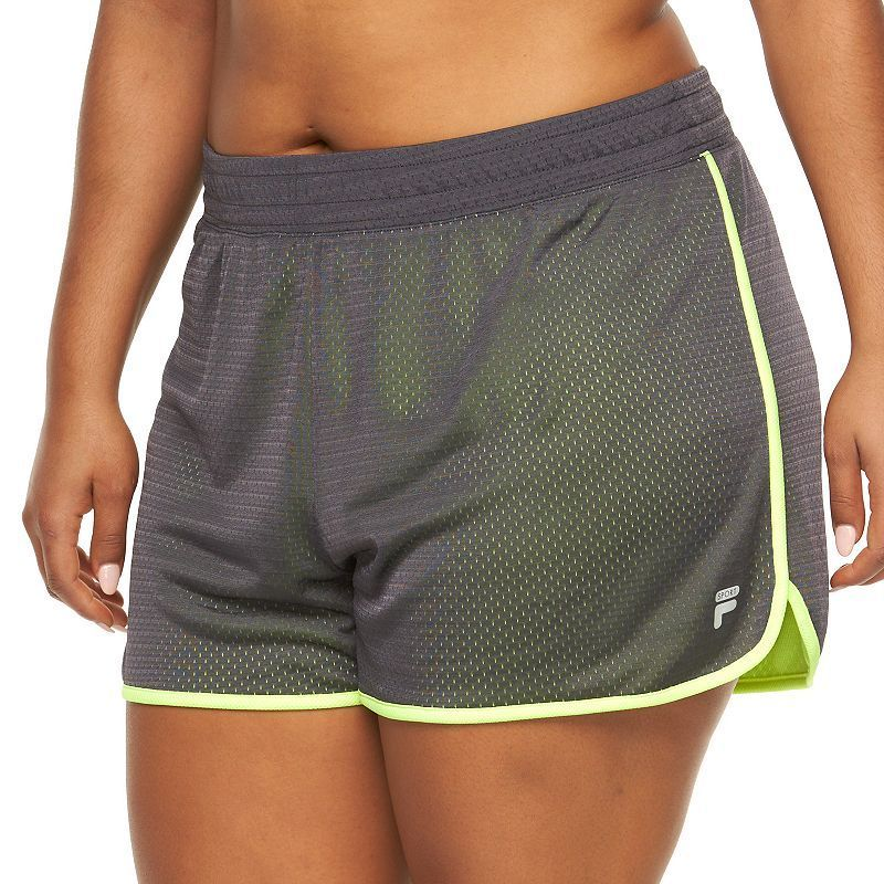 Plus Size FILA Sport® Academy Mesh Performance Shorts, Women's, Size: