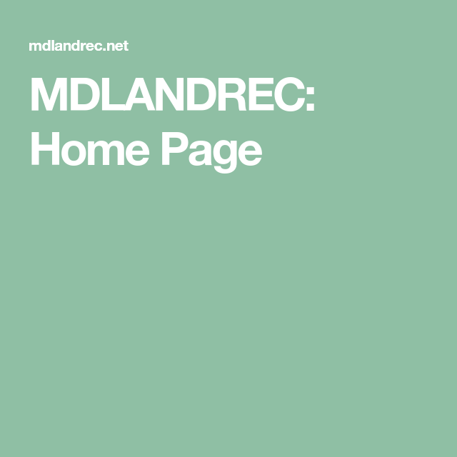 Mdlandrec Home Page How To Apply Encouragement Incoming Call Screenshot