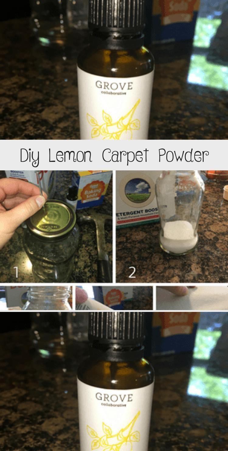 Diy lemon carpet powder does your carpet need a little