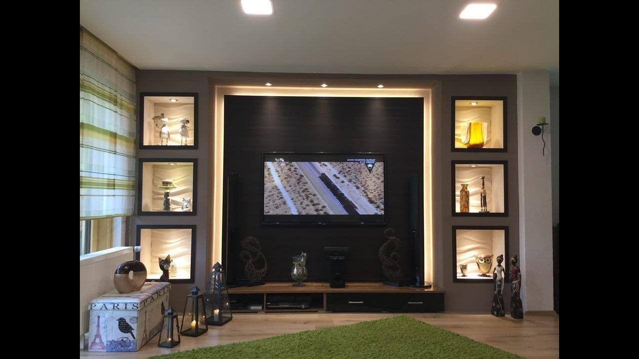 Tv Wand Selber Bauen Wohnzimmer Living Room Tv Wall Geves