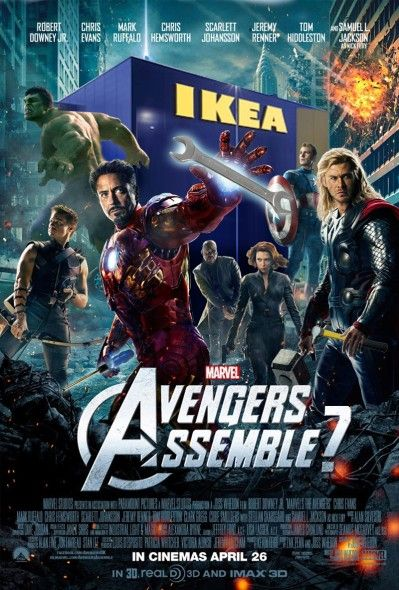 Avengers Assemble Parody Poster Yes  Wizards And Princesses  Avengers Movies, Avengers 2012 -8935