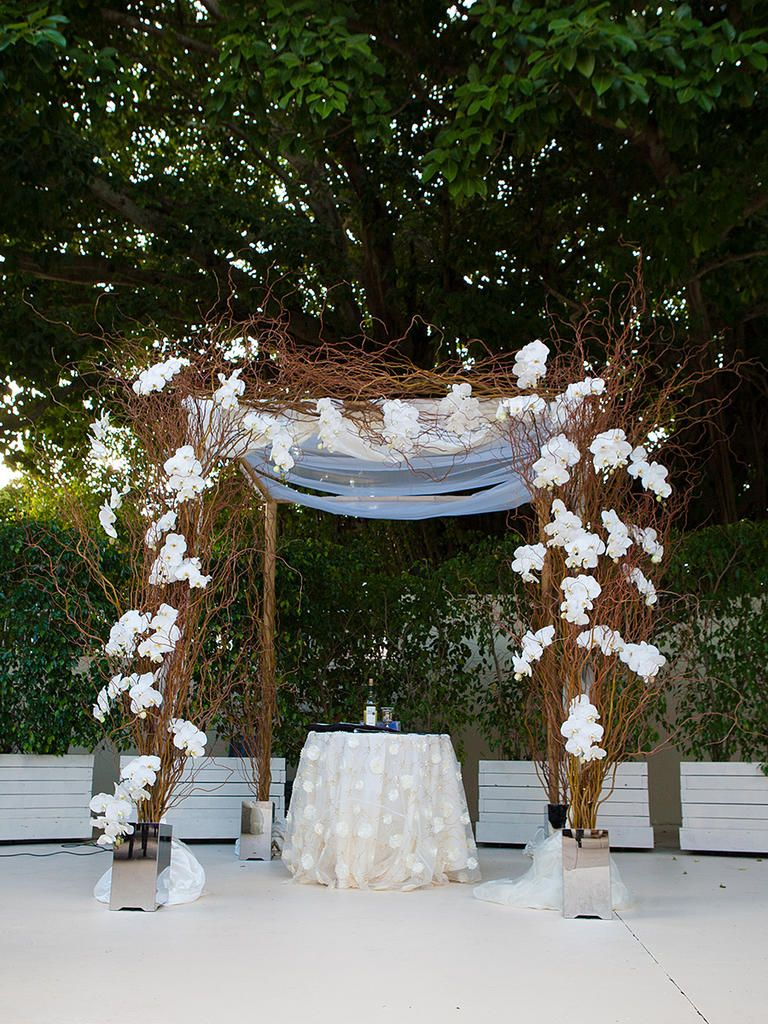 stunning outdoor wedding arch ideas willow branches outdoor